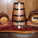Handcrafted Upright Kegs