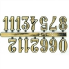 Clock Arabic Numbers
