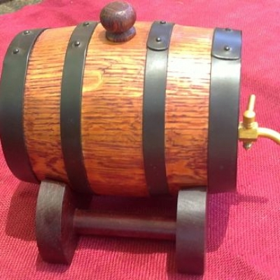 "700ml Mini ""Bundy Keg"", Cask, Barrel"